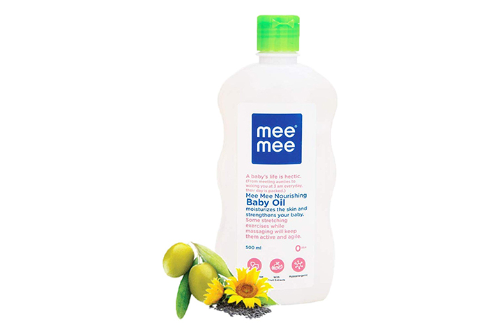Mm Baby Oil