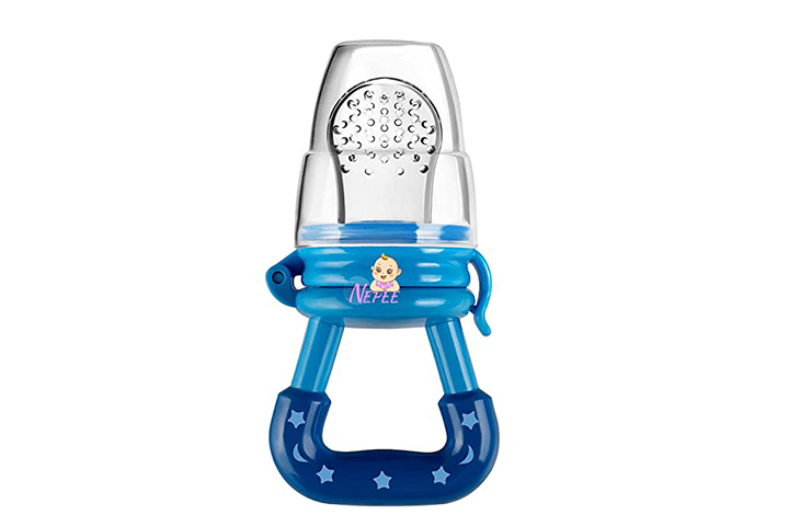 NEPEE Silicon Baby Fresh Fruit Food Feeder
