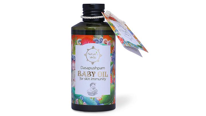 Nature's Veda Dasapuspam Baby Oil
