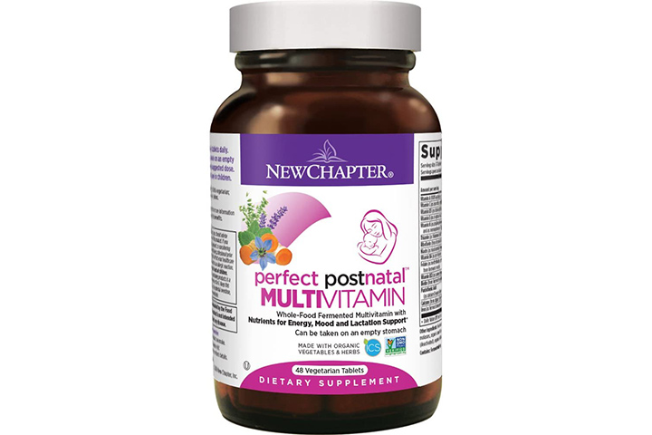 New Chapter Postnatal Vitamin and Lactation Supplement