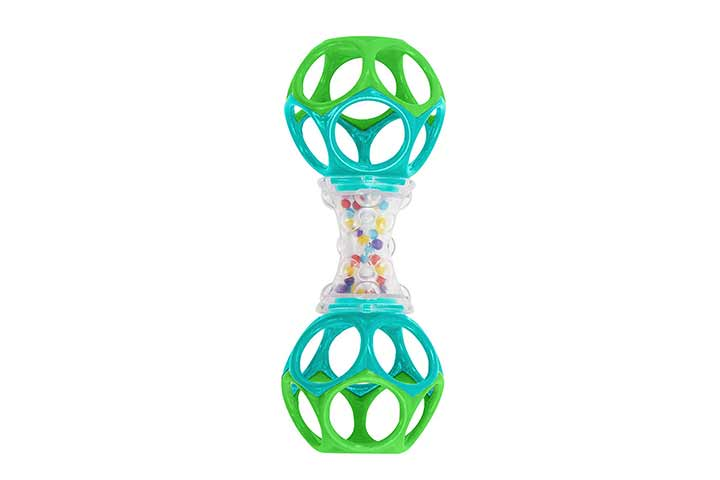 Oball Bright Starts Shaker Rattle Toy