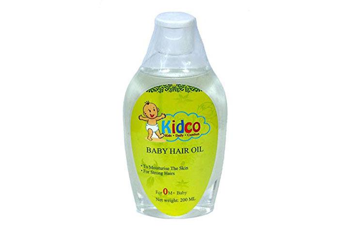 Orish Bio Naturals F BabyPro Baby Hair Oil