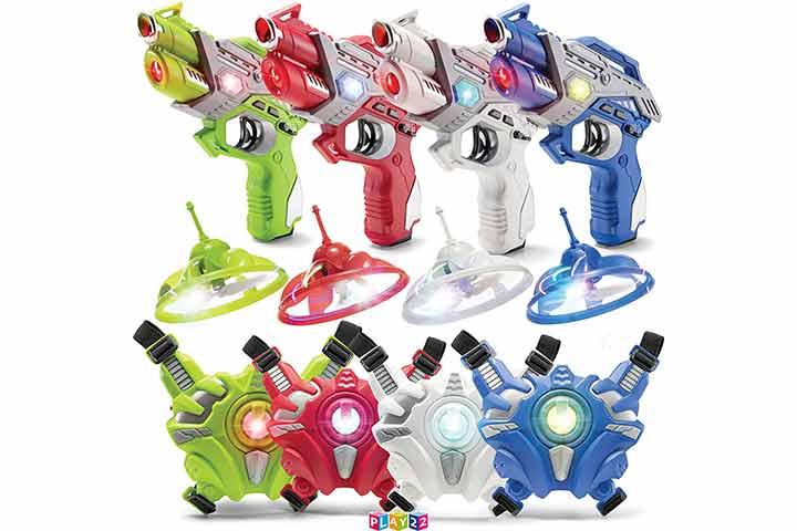 Play 22 Laser Tag Gun Set