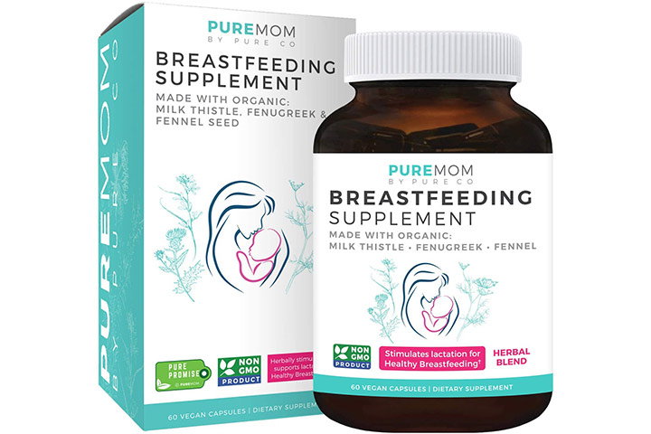 Pure Co Breastfeeding Supplement