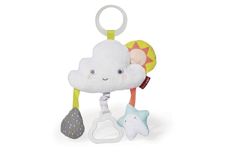 Skip Hop Silver Lining Cloud Rattle