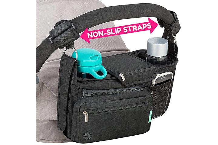 Swanoo Non-Slip Stroller Organizer
