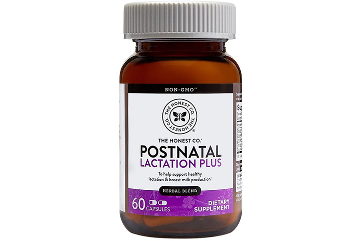 The Honest Company Postnatal Lactation Plus