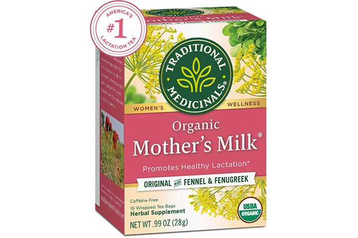 Traditional Medicinals Organic Mother's Milk Herbal Supplement