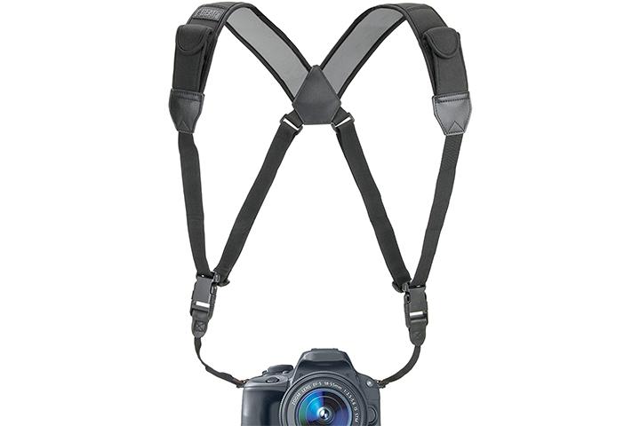 USA Gear DSLR Camera Strap Chest Harness