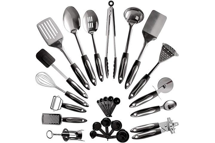 Asani Stainless Steel Kitchen Utensil Set