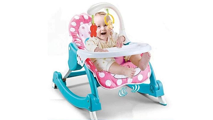 Baby Bucket Newborn 3 in 1 Toddler Rocker Cum
