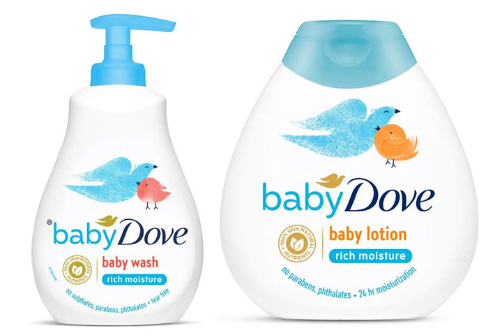 Baby Dove Rich Moisture Hair To Toe Baby Wash