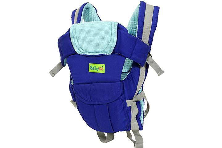 BabyGo Soft 4-in-1 Baby Carrier