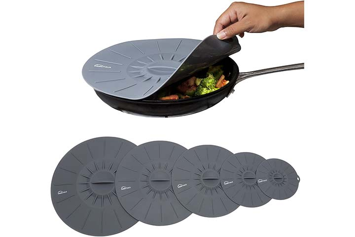 Basic Haus Microwave Cover Silicone Lids