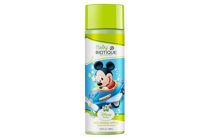 Biotic Disney Mickey Baby Tear Proof Shampoo