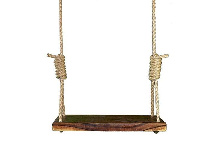Carolina Custom Swings LLC Rustic American Tree Swing