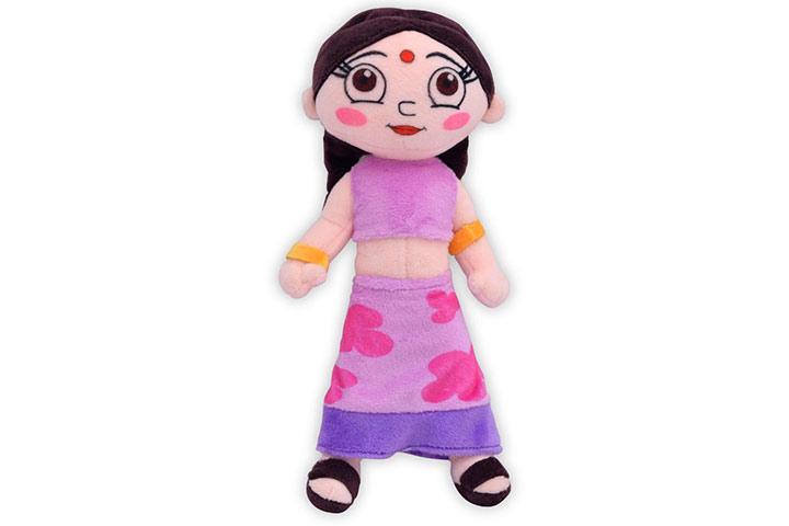 Chhota Bheem Chutki Plush Toy