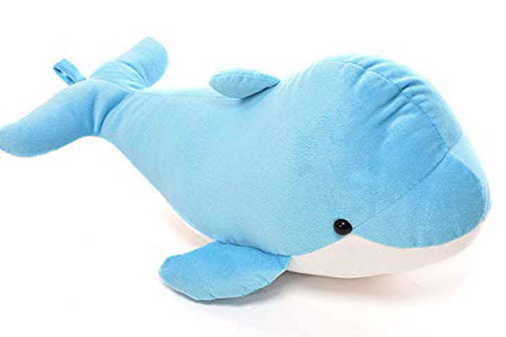 Chocolate Zone Colorful Stuffed Dolphin Fish Doll Soft Toy Kids Baby Plush Gift
