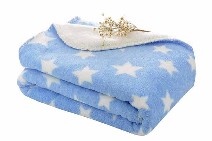 Cutico Luxury Series Super Soft Baby Wrapper Blanket Topsheet