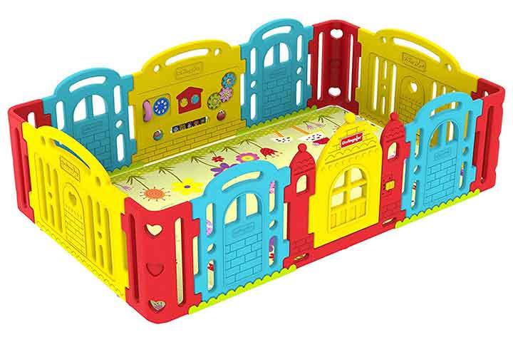 Divingular Baby Castle Playroom