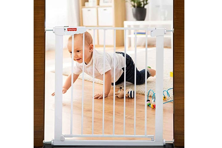 Fisher Prize - Barricade Auto Close Baby Safety Gate