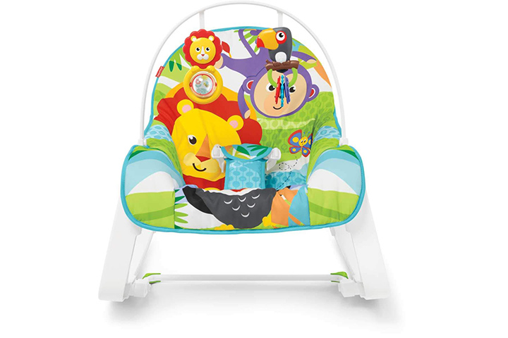 Fisher prize infant-to-toddler rocker