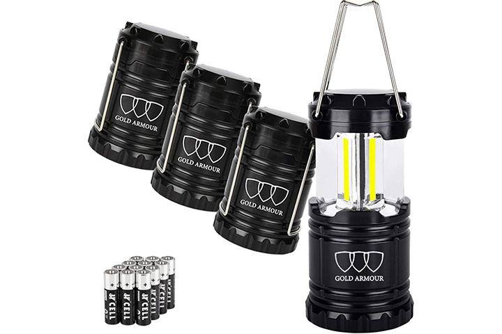 Gold Armour Portable Emergency Lights