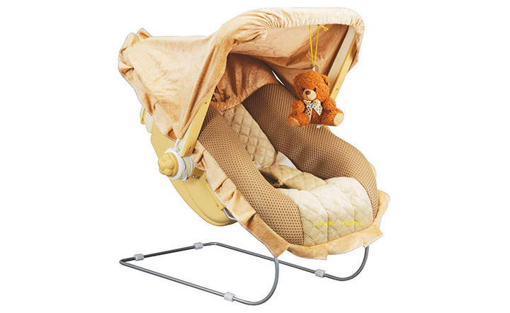 Goyles 12 in 1 musical carry plastic cot