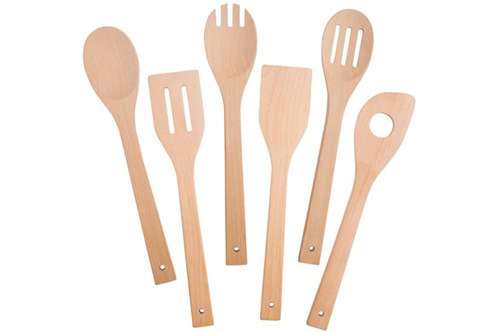 Hansgo Wooden Kitchen Spoons