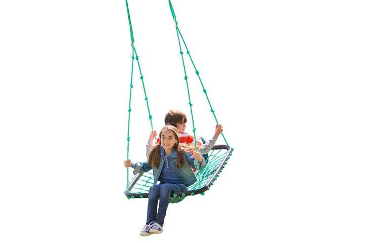 HearthSong Deluxe Platform Hanging Tree Swing