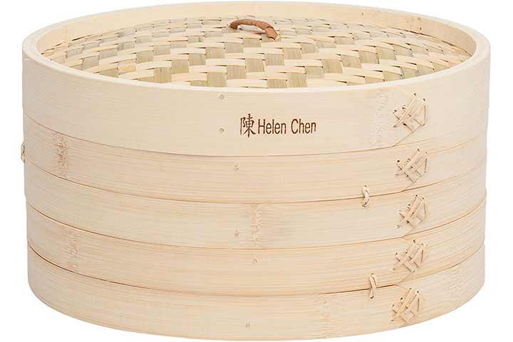 Helen Chen's Asian Kitchen Large Bamboo Steamer