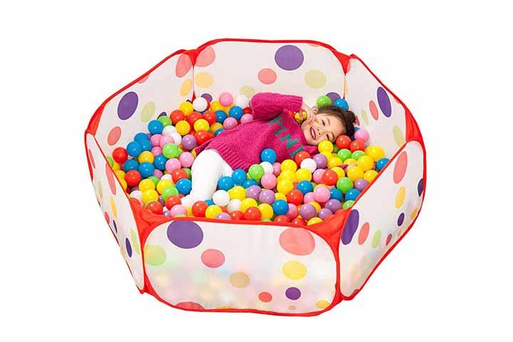 Hooddeal baby playpen hexagon