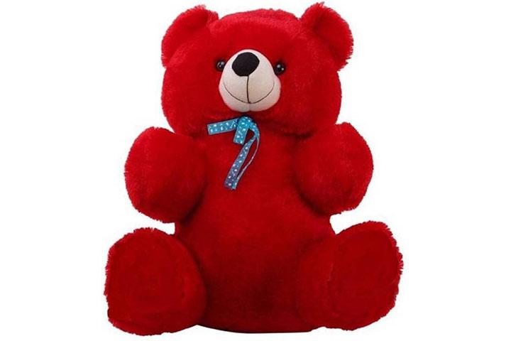 Hug and Feel Soft Toys Teddy Bear