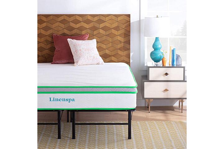 Linenspa Latex Hybrid Mattress With Folding