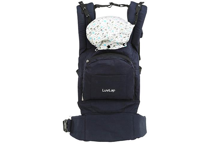 Luvlap Elite Baby Carrier (Navy Blue)