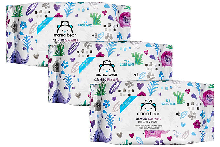 Mama Bear Cleansing Baby Wipes