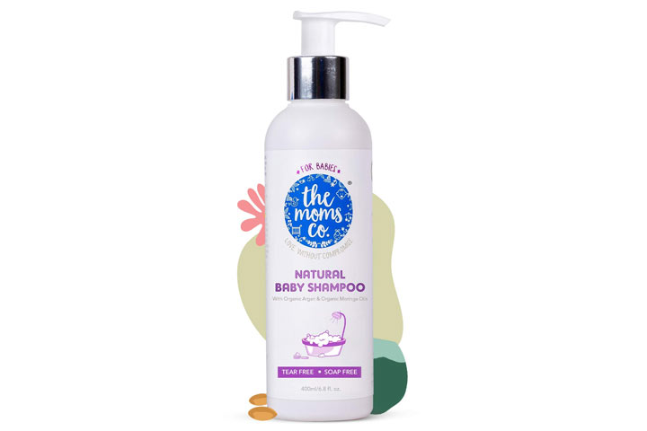 Moms Co Natural Baby Shampoo
