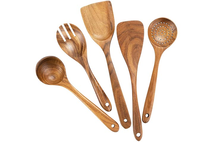 Mondayou Wooden Cooking Utensils