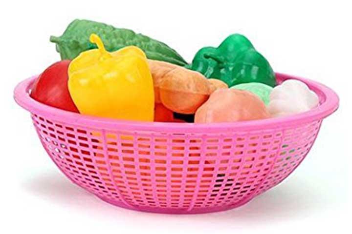 Ratnas Premium Quality Vegetable Set Basket