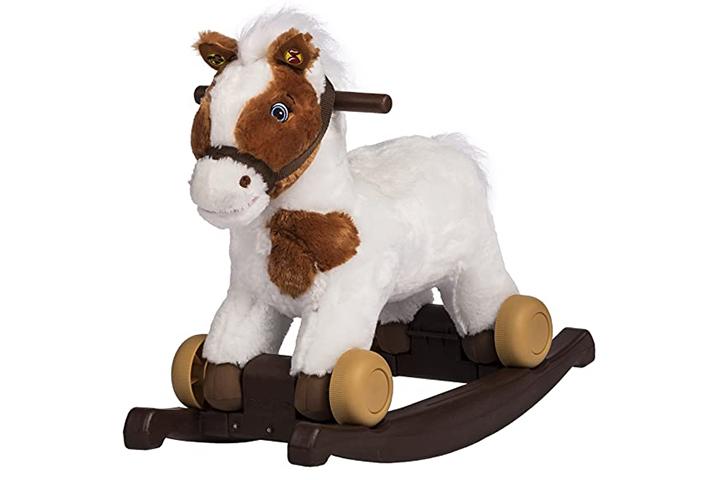 Rockin' Rider Carrot 2-in-1 Pony Plush