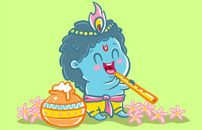 Shri Krishna Ke Muh Mein Brahmand