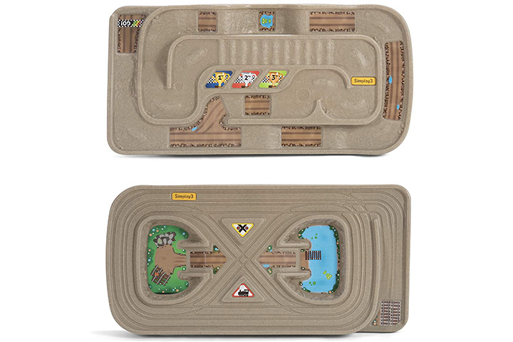 Simplay 3 Carry and Go Durable Track Table