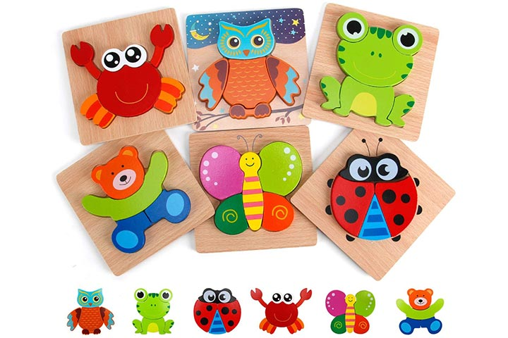 Slotic Wooden Puzzles for Toddlers