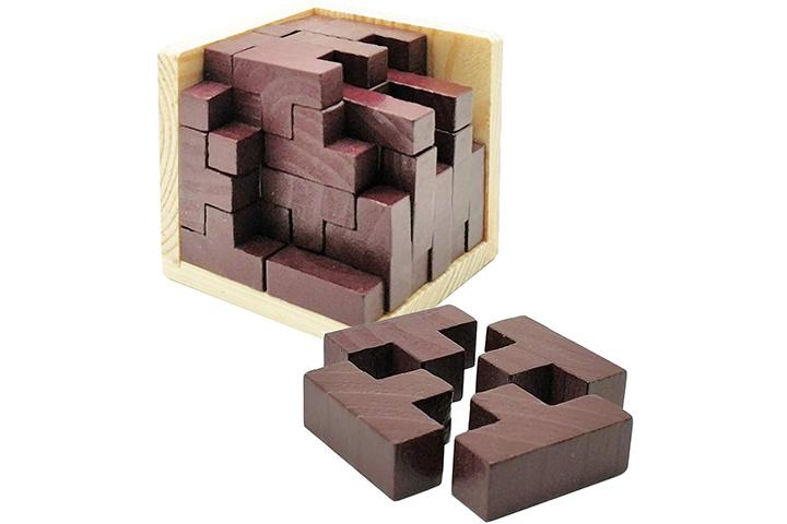 Sopu Wooden 3D Brain Teaser Puzzle