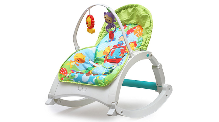 The Flyers Bay Fiddle Diddle Baby Bouncer