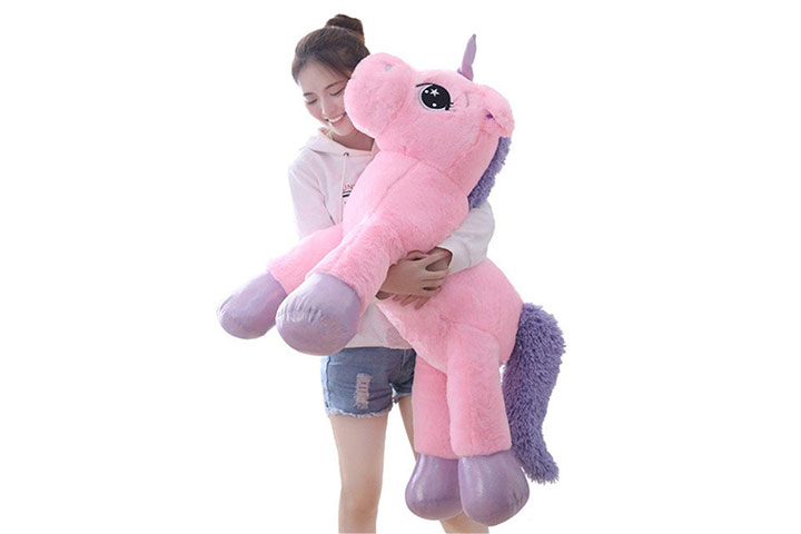 Webby Big Size Funny Unicorn Stuffed Animal Plush Toy
