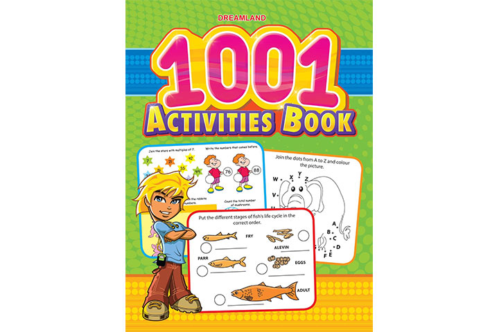 Best Activity Books To Buy For 5 Year Kid In India