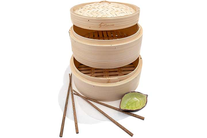i-PLAYLOFT Handmade Bamboo Steamer