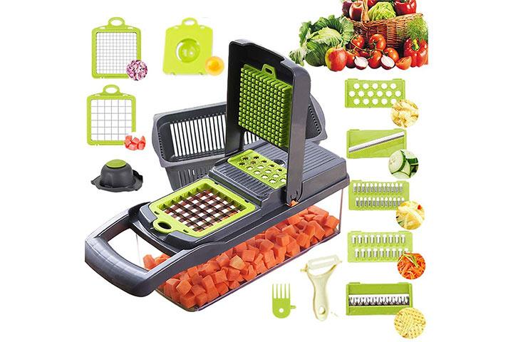 Alrens Vegetable Chopper and Mandoline Slicer