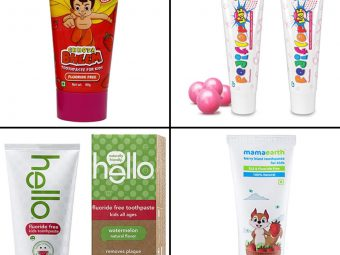 11 Best Toothpastes For Kids In India In 2021